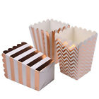 12 Pcs/Lot Paper Popcorn Boxes Party Favor Candy Box Snack Gifts Bags Decoration