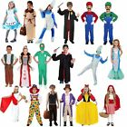 Girls Boys Childrens Book Day Story Character Fancy Dress Fairytale Kids Costume