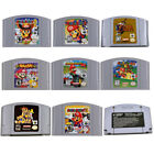 Video Games - For Nintendo 64 Game Mario,Smash Bros,Kart Video Game Cartridge Console Card US