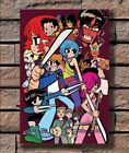 pilgrim movie - KX160 Cartoon Comic Funny Movie Scott Pilgrim Print 20x30 24x36 40in Silk Poster