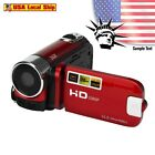HD 1080P 16M 16X Digital Zoom Video Camcorder Camera DV SD/SDHC 4/3 Inches CMOS