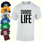 Choose Life Inspired Retro 80s Party Wham Fancy Dress Mens Womens T-Shirt