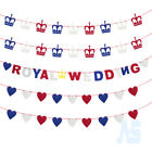 2018 Union Jack Prince Harry Meghan Royal Wedding Bunting Good Luck Party Banner