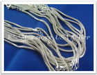 """925 Silver Necklace Lot Chain 16""""- 24"""""""