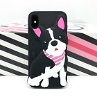 iPhone Phone Case 3D Cute Puppy,Seal Bear Friends Cartoon Gel Silicone Soft Case