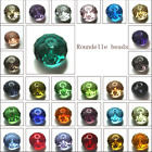 Wholesale Crystal Glass Rondelle Faceted Loose Spacer Beads 8mm 6mm