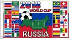 Soccer Flag World Cup 2018 Russia 5' x 3'