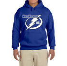 Tampa Bay Lightning Nikita Kucherov Logo Hooded sweatshirt $31.99 USD on eBay