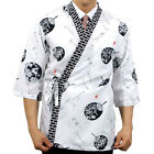 which sushi chef coats jacket restaurant bar clothes uniform catering 4 size