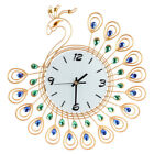 Vintage Style Classical Peacock Antique Wall Clock for Kitchen Home Office Watch