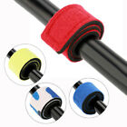 Внешний вид - 5pcs/Bag Elastic Wrap Band Pole Holder Tackle Fishing Rod Tie Strap Belt Tool AM