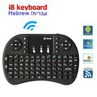 2.4GHz mini wireless Keyboard Remote Control Touchpad Air Mouse For PC Laptop EN