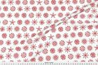 Stars Ornaments Snowflakes Christmas Fabric Printed by Spoonflower BTY