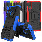 For Huawei P20 Lite Case Rugged Armor Shockproof Protective Cover and Kickstand