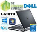 DELL LATITUDE E6430 LAPTOP - i5 CPU, 4/8GB RAM, 320GB HDD/128GB SSD, WIN 7/10