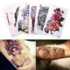 Waterproof Temporary Tattoo Large Arm Body Art Tattoos Long Last Sticker  US $1.28 USD on eBay