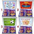 Personalised GRANDAD ON FATHERS DAY Gift Hamper Cadbury Chocolate Selection Box