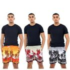 Mens Hawaiian Shorts Beach Palm Summer Sports Holiday Trunks Size M L XL 2XL