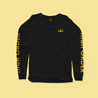 order free shipping supplies - High Order Long-Sleeve YELLOW ON BLACK FREE SHIPPING Limited Supply