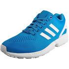 Adidas Originals ZX Flux Mens Classic Casual Fitness Gym Trainers Blue