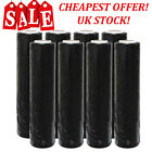 BLACK STRONG ROLLS PALLET STRETCH SHRINK WRAP PARCEL PACKAGING CLING FILM <br/> ✔HIGH QUALITY✔SHRINK WRAP✔FAST FREE DELIVERY!✔UK STOCK✔