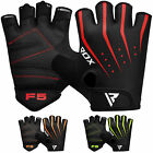 RDX Gym Weight Lifting Gloves Workout Fitness Training Bodybuilding Breathable