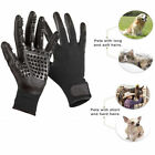 Special Cat & Dog Pet Brush Groom Work Gloves Hair Removal Cleaning Supply