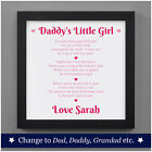 Personalised Birthday Gifts From Daughter - First Fathers Day Gifts Baby Girl