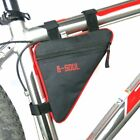 Bike Bicycle Triangle Frame Bag Front Top Tube Cycling Under Seat Pouch US