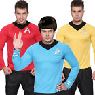 Star Trek Uniform T Shirt Costume Fan Captain Kirk Spock Enterprise Starfleet on eBay