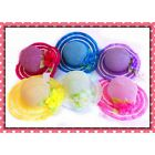 NEW CUTE LITTLE GIRL'S TEA PARTY FAVOR DRESS UP HAT ALL COLORS!!