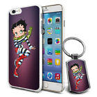 Betty Boop Design Hard Case Cover & Free Keyring For Various Mobiles - 02 £5.9 GBP on eBay