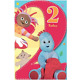 In The Night Garden Age 2 Large Birthday Card NG029