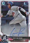 2018 Bowman Chrome Baseball Prospects Autographs and Parallels