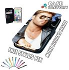 George Michael Handsome Sun Glasses - Leather Flip Wallet Phone Case Cover