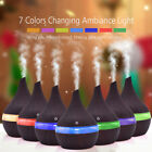 ultrasonic aroma oil diffuser - Aroma Essential Oil Diffuser LED Ultrasonic Humidifier Aromatherapy Air Purifier