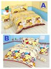 Sanrio Pom Pom Purin Fitted Sheet Pillow Case Quilt Cover Bedding Pudding Dog