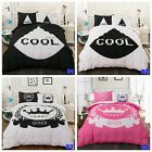 Cool Queen Duvet Quilt Doona Cover Set Single Queen King Double Size Bed Covers