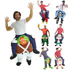 Piggyback Ride Me Ride On Piggy Back Costume with Self Fill Legs Bachelor Party