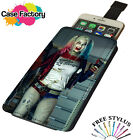 Harley Quinn Scuicide Squad Daddy Loves Bat - Universal Leather Phone Case Cover