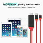 Lightning to Digital TV HDMI Cable Adapter For Ipad air iphone 7 7Plus 8