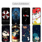New Patterned Soft TPU Silicone Case Cover + Sling Ring for Huawei Y6 Y7 Y9 2018