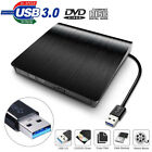 External USB3.0 DVD RW CD Writer Slim Drive Burner Reader Player For PC Laptop