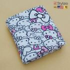 NEW Baby Muslin Cotton Blanket Swaddle Colorful Printed Soft Breathable For Newb
