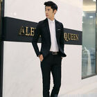 Men Casual Slim  One Button Male Jacket Clothes Wedding Groom Formal Suit