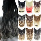 50g 22'' Long Wave Ombre Fish Line Halo Hair Extensions Synthetic Hairpieces
