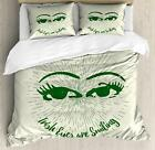 Funny Duvet Cover Set Twin Queen King Sizes with Pillow Shams for Bedding Decor