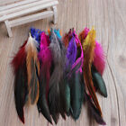 25Pcs Beautiful Rooster Tail Feathers Costume DIY Decoration 5-7 Inch UK SELLER