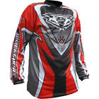 Wulfsport Junior Cub Attack Shirt Red Motocross Motorcycle Jersey New