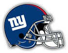 New York Giants NFL Football Helmet Logo Car Bumper Sticker  - 3'', 5'' or 6'' on eBay